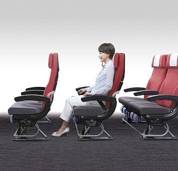 JAL 787 Economy Seat Legroom