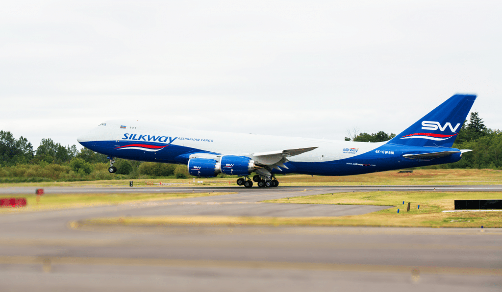 Silk Way Airlines 747-8 Freighter