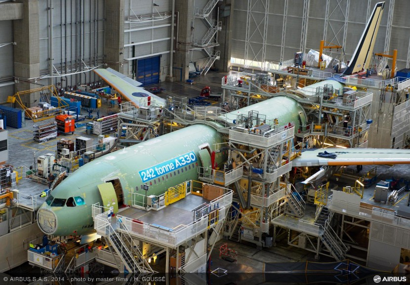 Final assembly of 242 tonne take-off weight A330 begins at Airbus