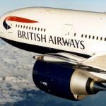 British Airways plane and train ticket