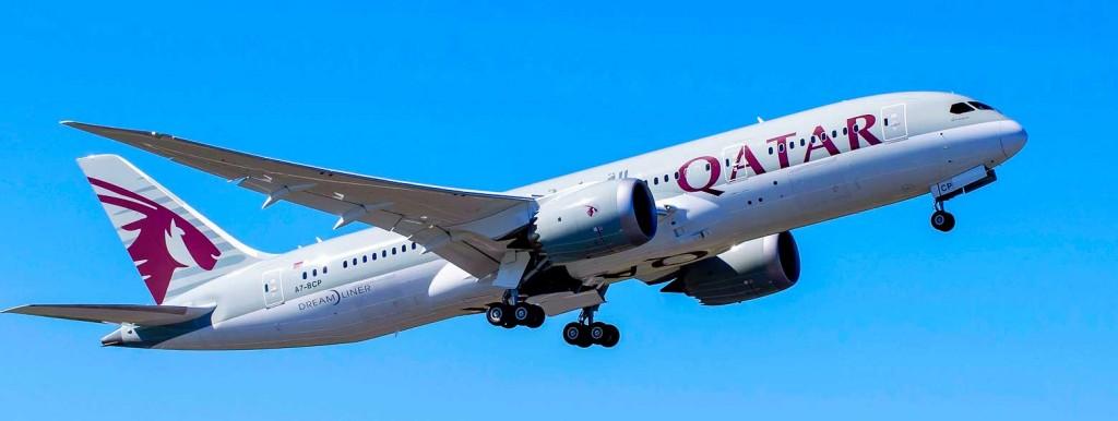 Boeing 787 on Edinburgh Doha flights