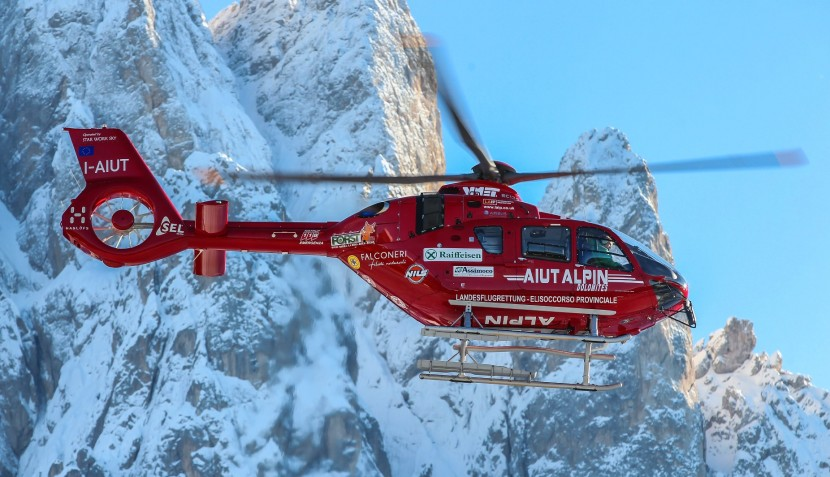 Airbus' first enhanced EC135 T3/P3 helicopter enters service in high-altitude rescue operations