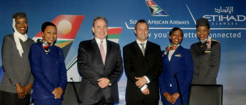 South African Airways and Etihad Airways continue major expansion