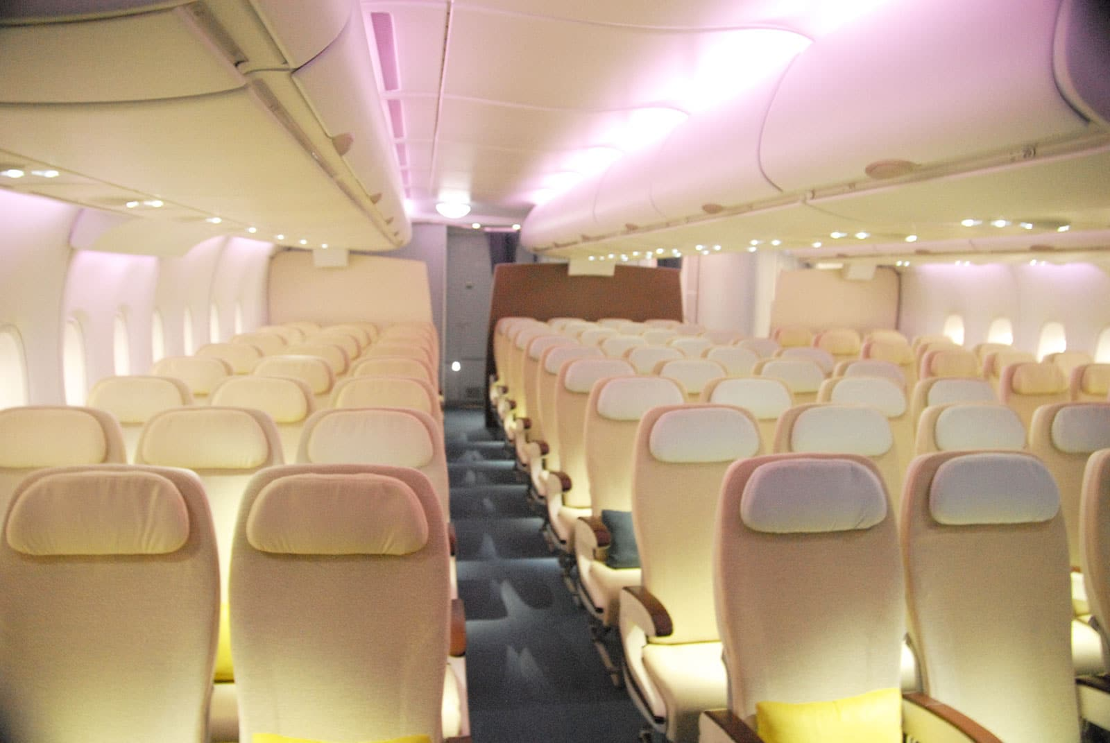 Airbus A380 Economy Cabin