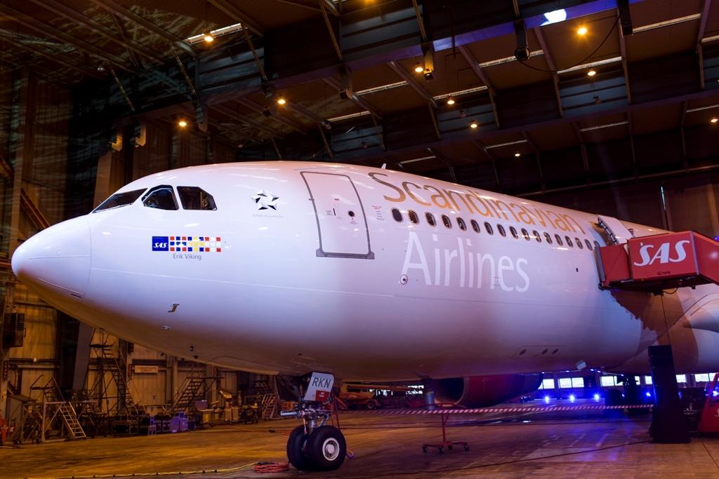SAS Airbus A330 Erik Viking