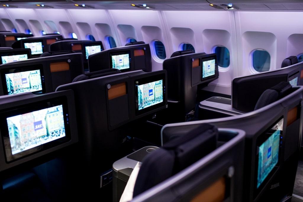 The new SAS Business Class Seats