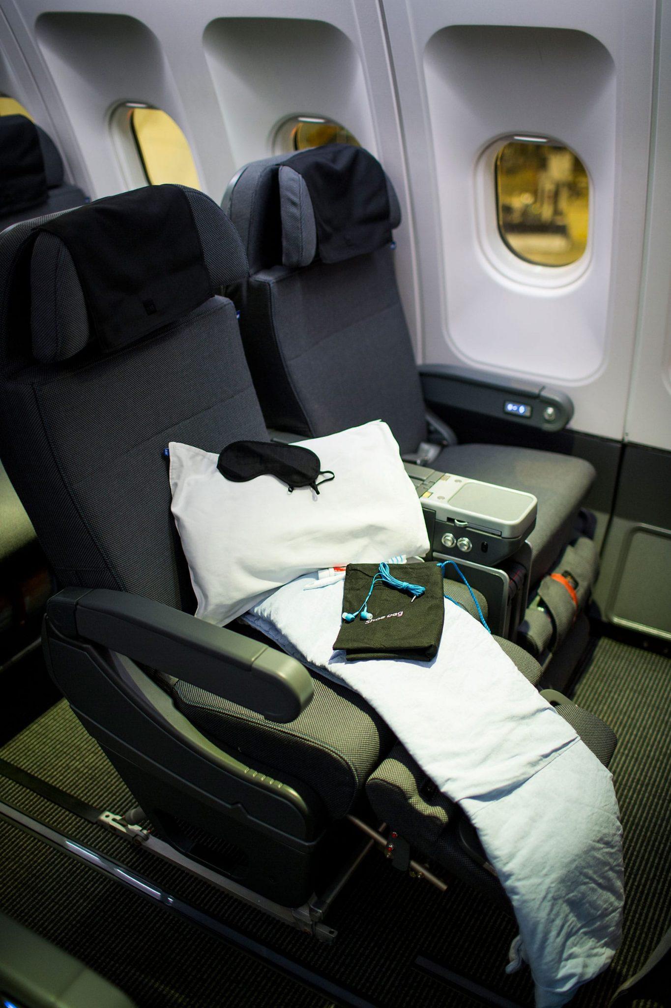SAS Plus Premium Economy Cabin