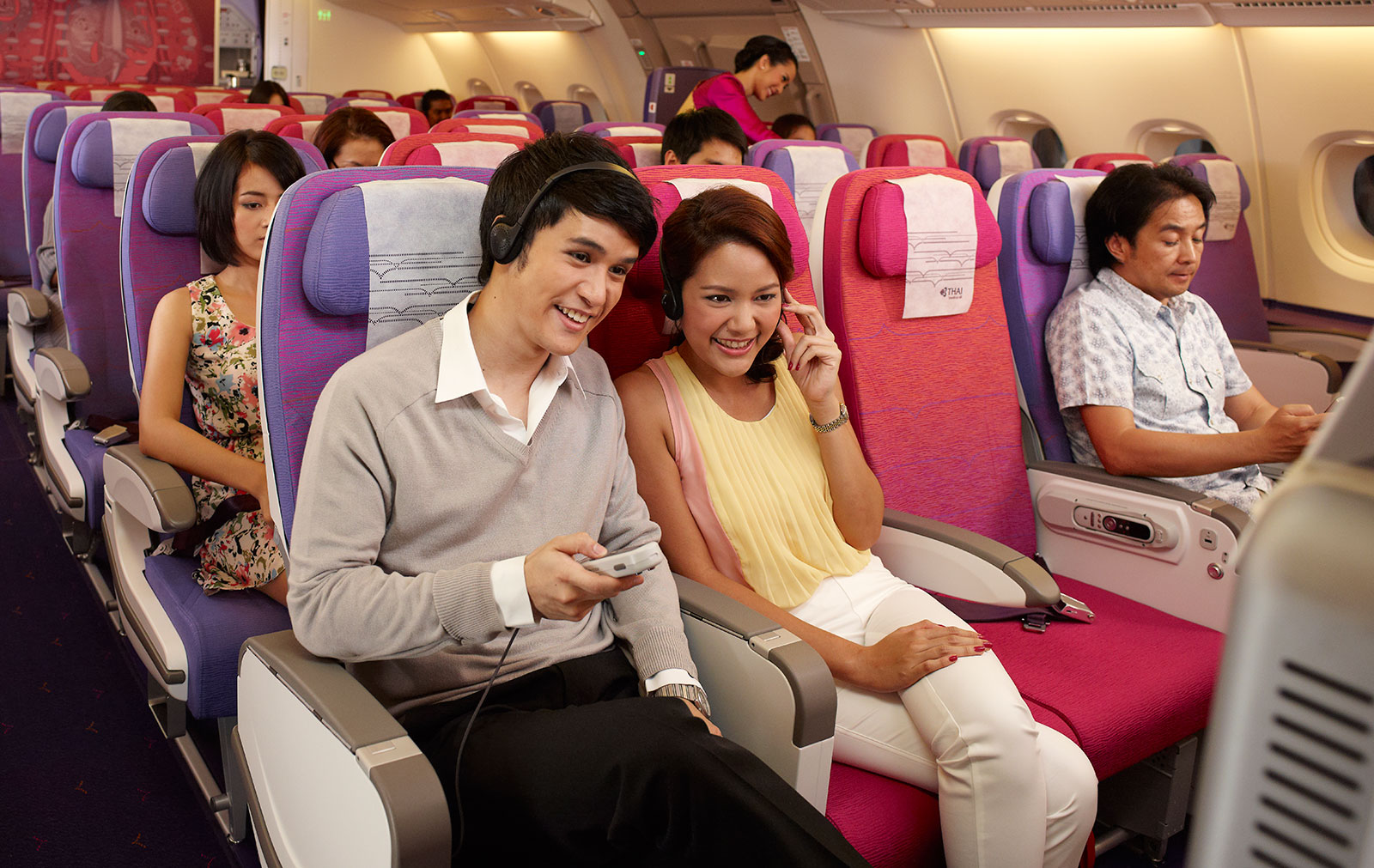 Flying On Thai Airways A380 Planetalking