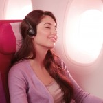 Thai Airways A380 provides plenty of space in the economy cabin