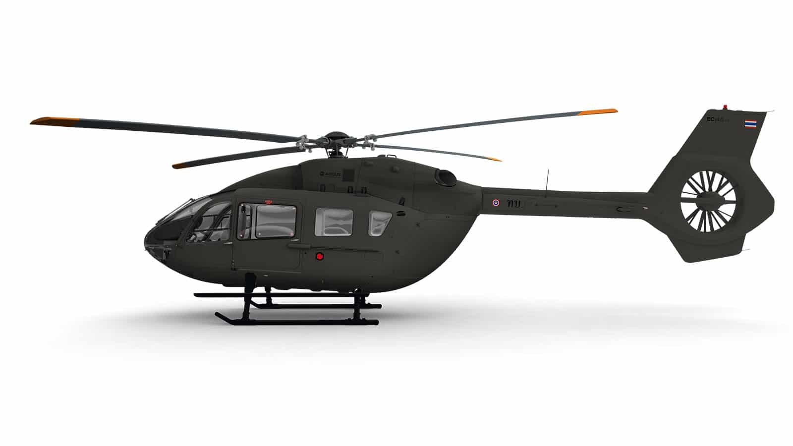 The Royal Thai Army acquires six Airbus EC145 T2 Helicopters