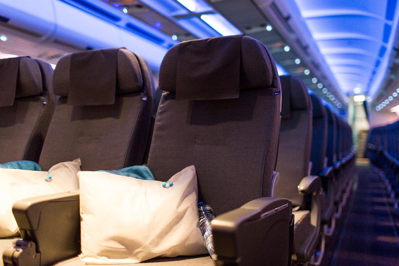 The new SAS long haul cabin