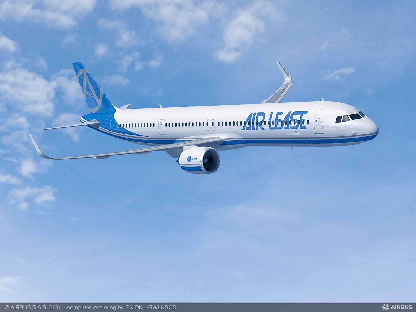ALC order30  Airbus A321LR