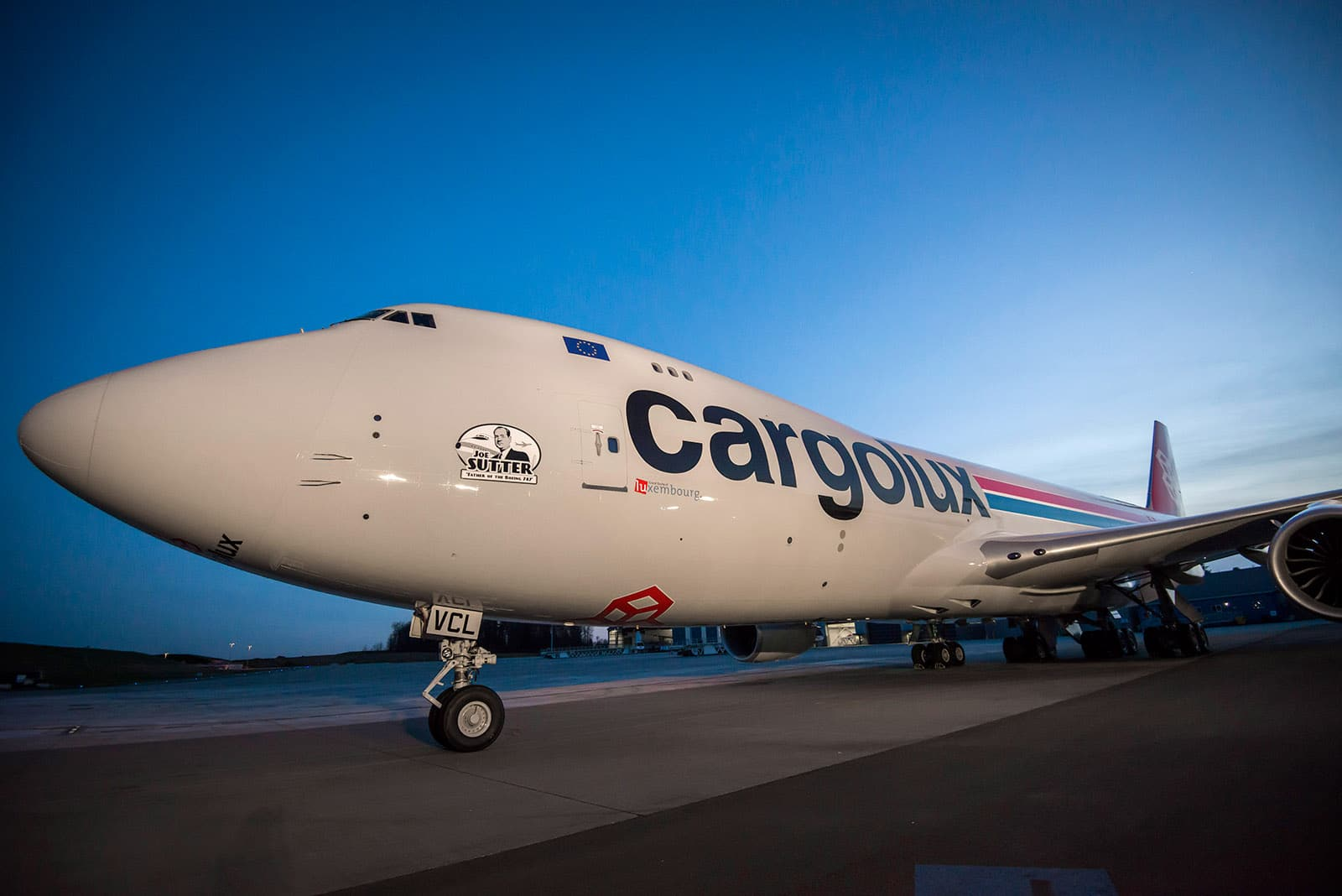 Boeing and Cargolux Airlines Celebrate 30th Direct Delivery of a 747 Freighter 747-8F