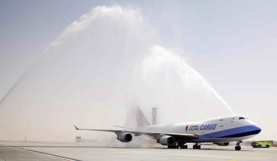 China Airlines moves its regional cargo hub to Dubai World Central