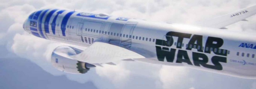 ANA launch Star Wars Jet with R2-D2 livery on B787-9