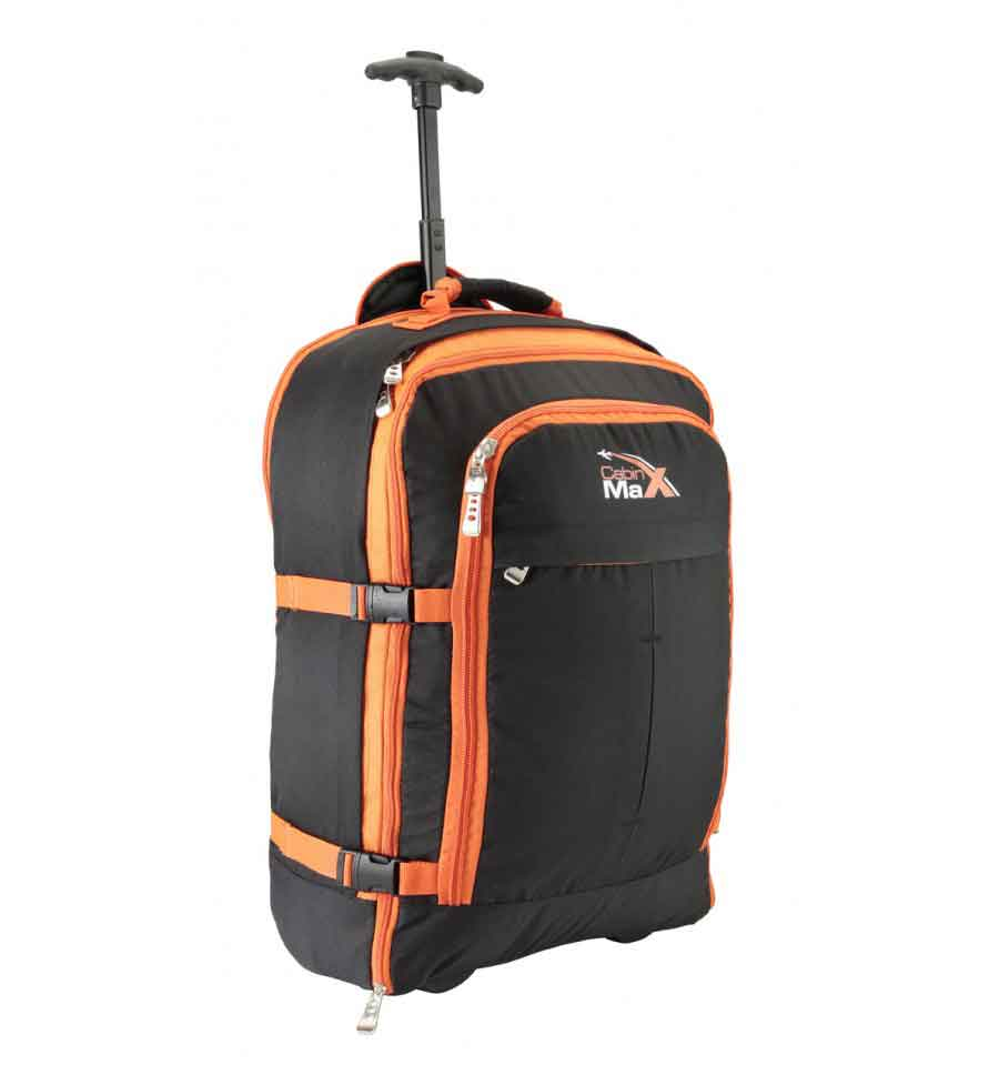 Convertible Trolley Backpack Hand Luggage