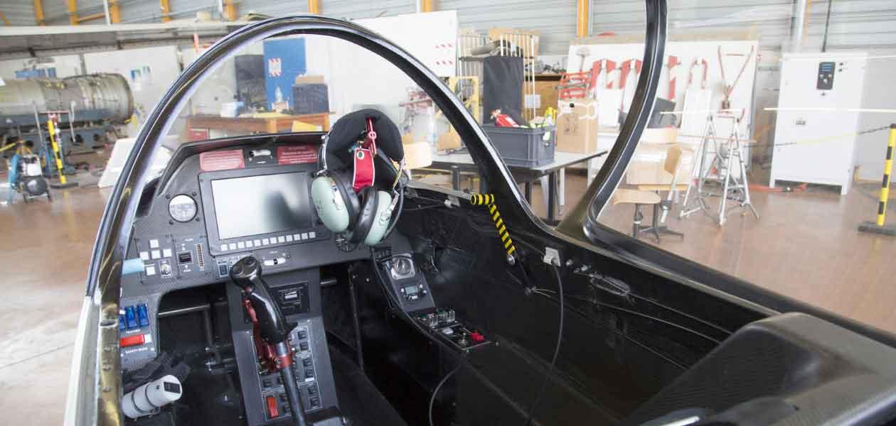 E-Fan cockpit