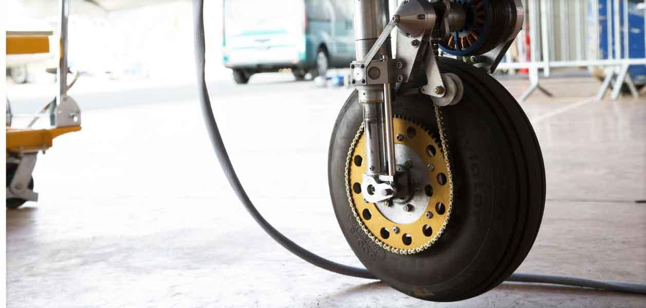 E-Fan wheel and motor