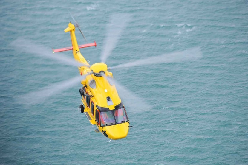 Airbus show their new H175 helicopter to Brazilian oil and gas sector