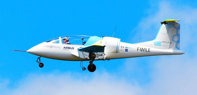 Electric Airbus E-Fan aircraft to fly the Channel this Friday #avgeek