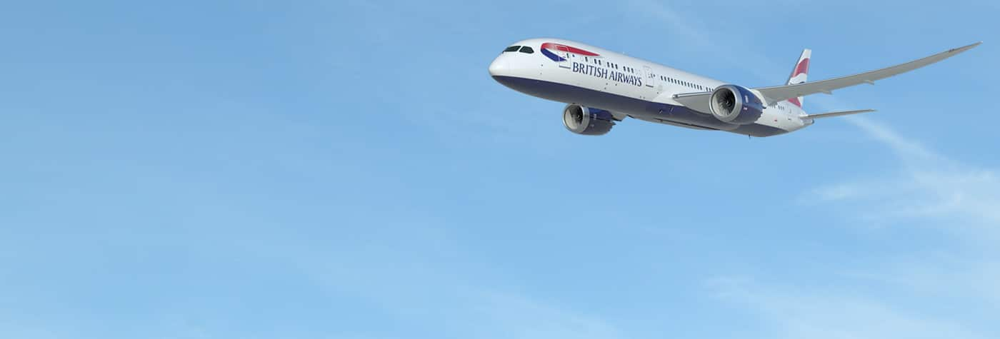 The new British Airways Boeing 787-9 Dreamliner will fly the London - Delhi route from 25th October