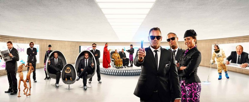 Air New Zealand bring you Men in Black Safety Defenders #AirNZSafetyVideo