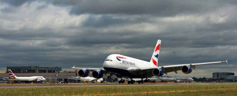 Flying on the British Airways A380