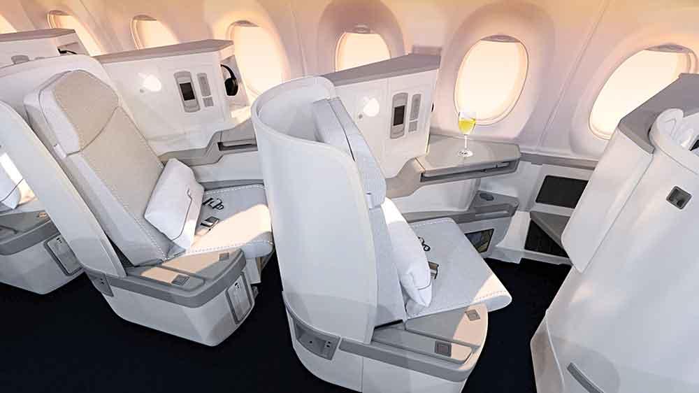 Finnair A350 XWB Business Class Cabin seat