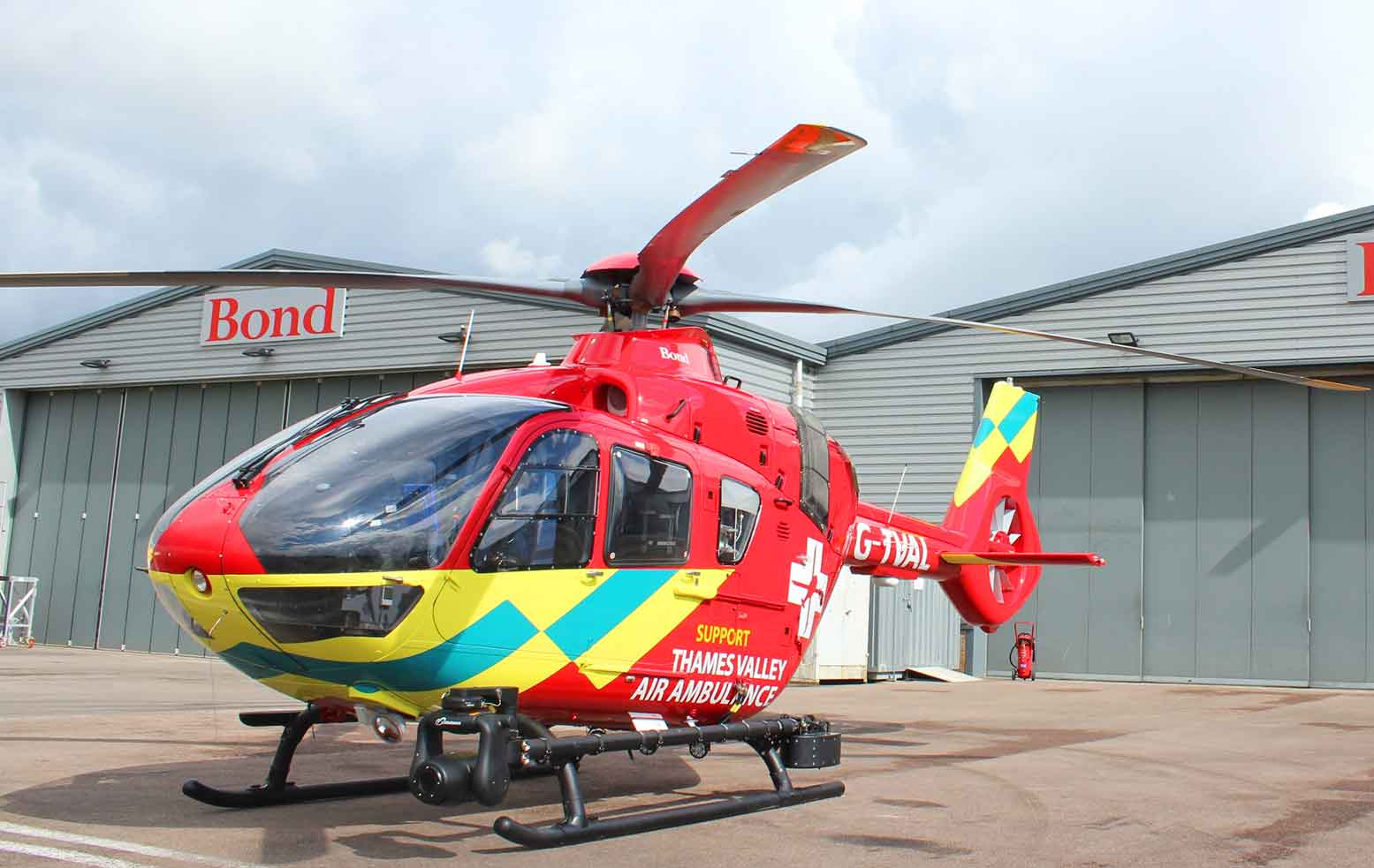 First H135 helicopter for Thames Valley Air Ambulance