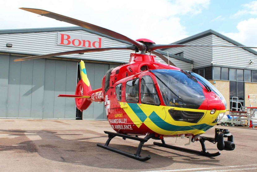 Thames Valley Air Ambulance to get UK's first H135 helicopter