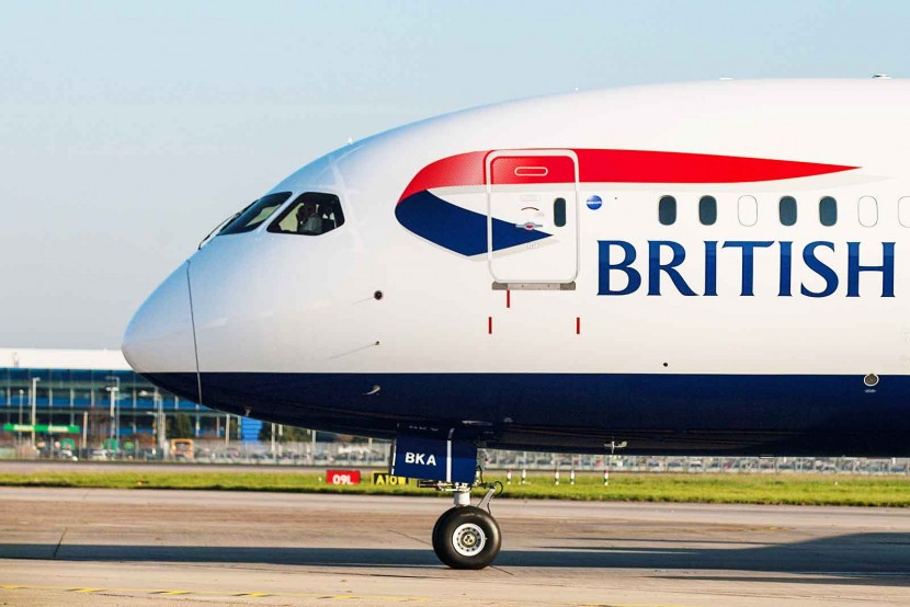 The first British Airways Boeing 787-9 Dreamliner arrives from Seattle