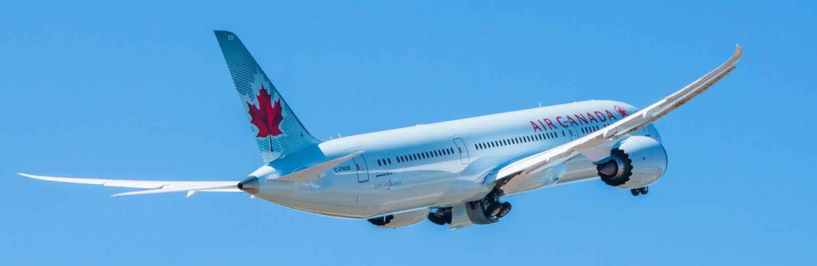 Air Canada B787-9 to fly Toronto Delhi route