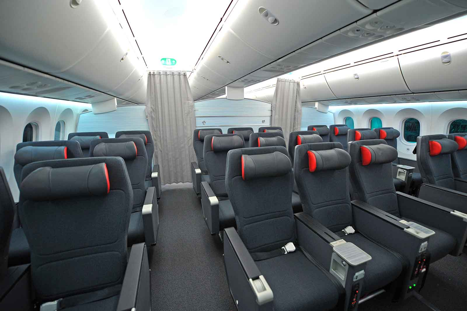 Air Canada B787 Premium Economy Cabin