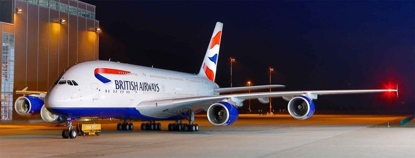 The Tenth British Airways A380 arrives at Heathrow