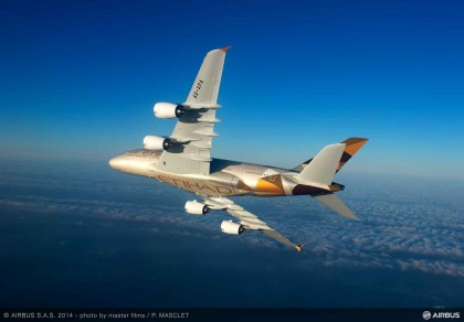 Etihad Airways will add Mumbai to A380 flight route from May 2016