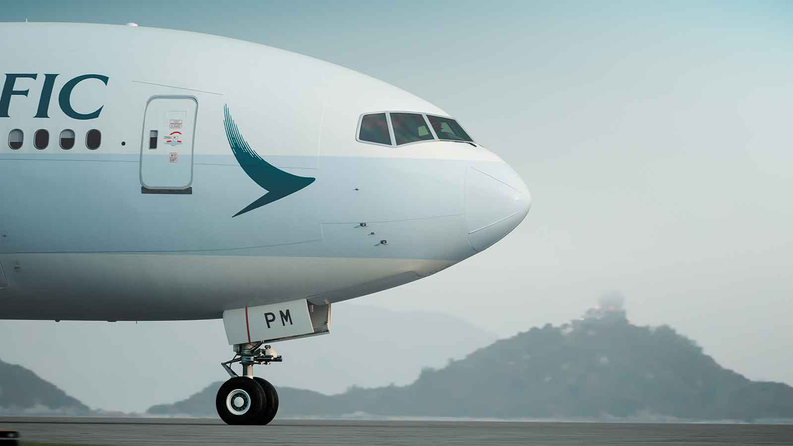New Cathay livery
