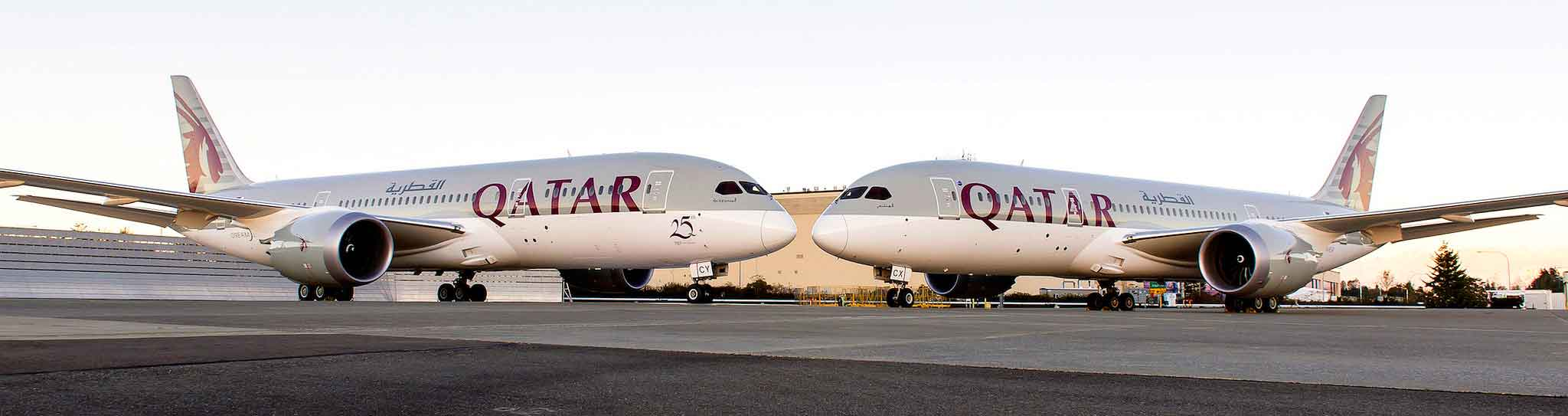 Qatar Airways takes delivery of 24th and 25th Boeing 787 Dreamliners