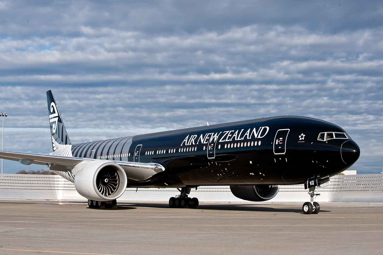 Air New Zealand Boeing 777-200 used for Auckland Buenos Aires flights