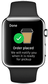 Air new Zealand order coffee app