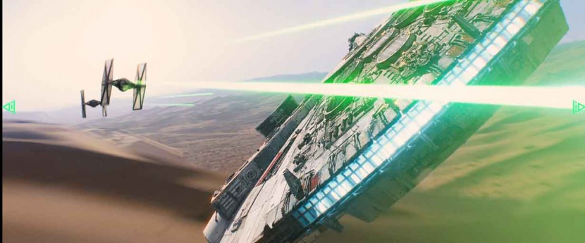 Is this the closest thing to experiencing flying the Millennium Falcon?