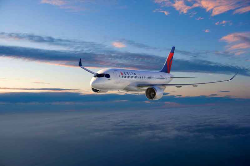 Delta Orders 75 Bombardier CS100 State-of-the-Art, Fuel-Efficient Jets