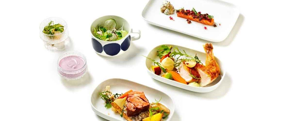 Nordic Signature Menus add that little bit extra to Finnair Business Class