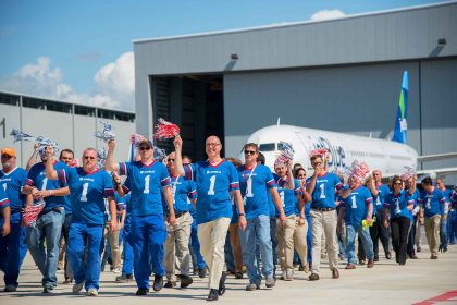 JetBlue take delivery of first Airbus A321 from the American assembly line