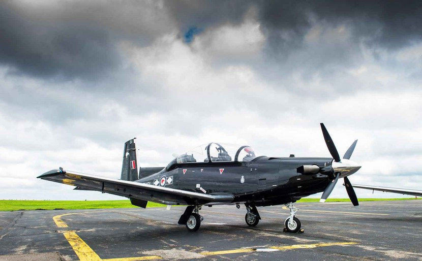 Beechcraft T-6C trainer success with New Zealand Air Force pilot training