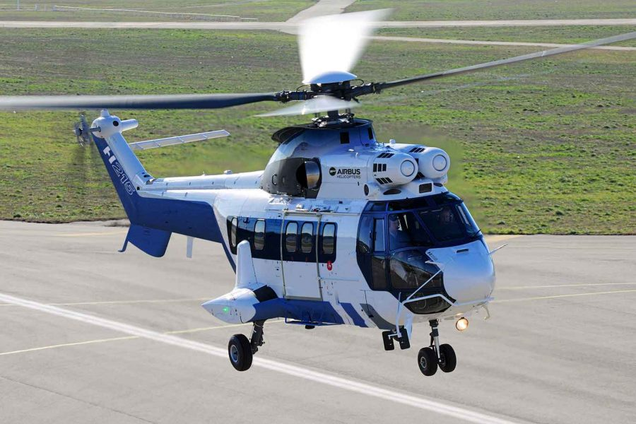 The H215 helicopter showcases its performance in Latin America