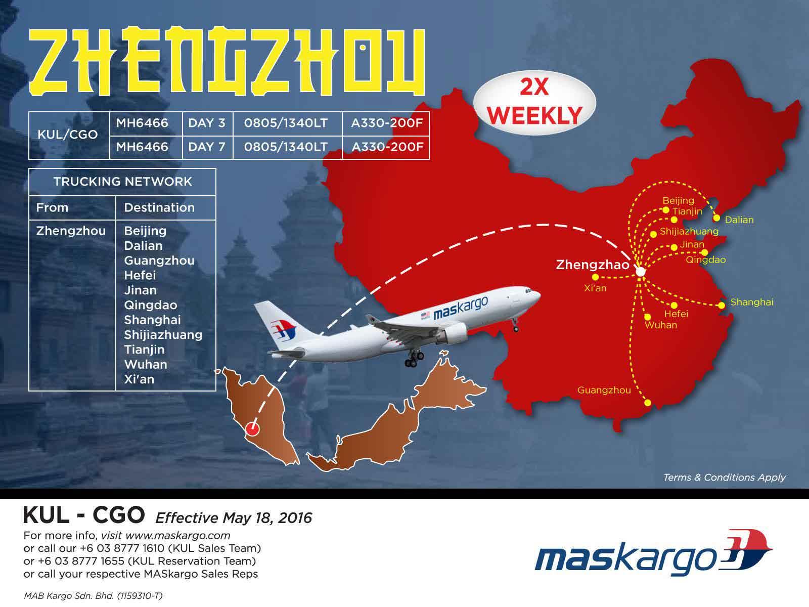 MAS-Air-Cargo-Zhengzhou