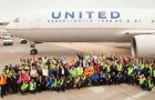 United Celebrates 30 Years at Washington Dulles Airport
