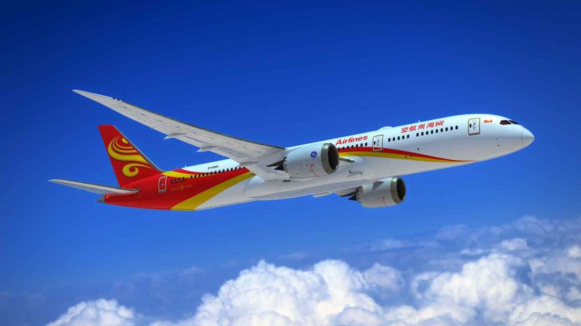Hainan Airlines becomes first carrier in China to operate 787-8 and 787-9
