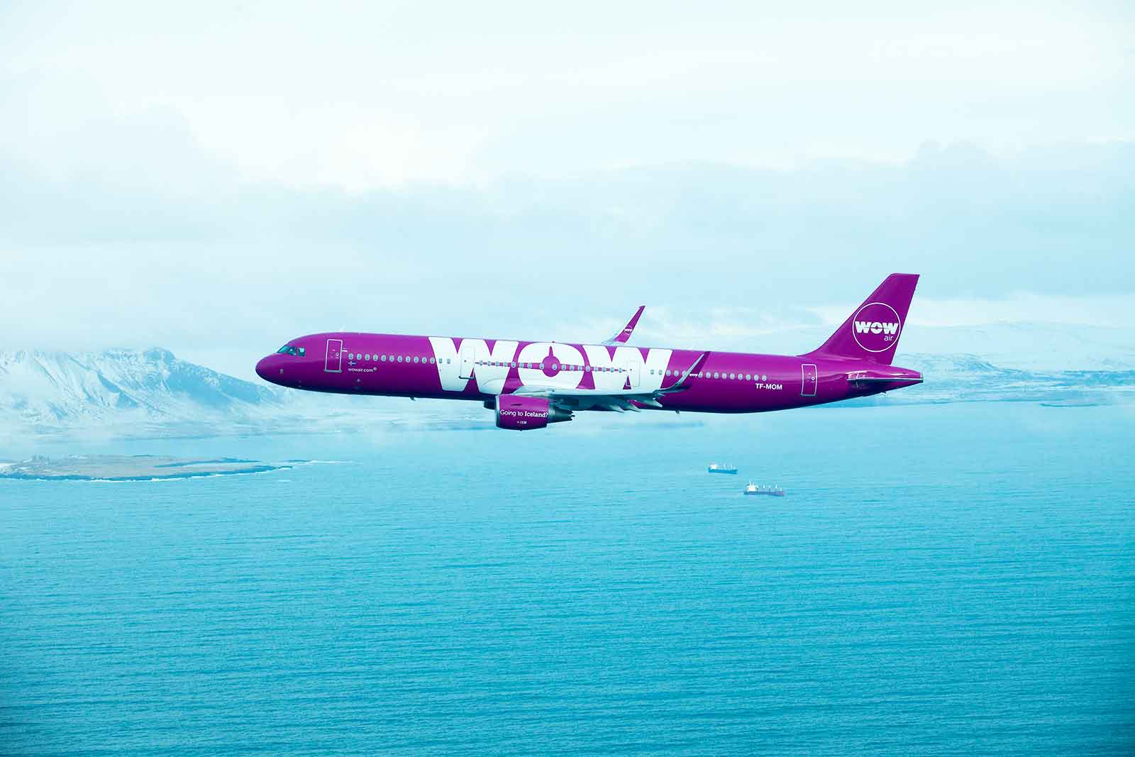WOW Air fly from Bristol Airport and Gatwick to Newark flights