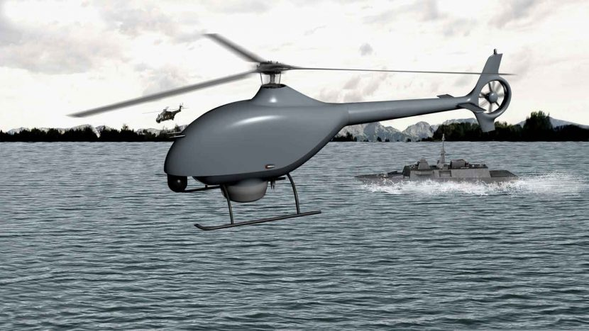 DCNS and Airbus Helicopters to design French Navy's future VTOL drone